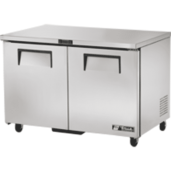 True TUC-48-LP Under Counter Fridge With 2 Solid Doors