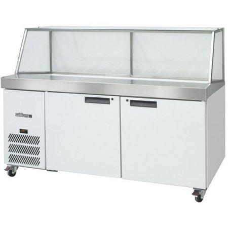 williams_banksia_HSP30UBA-two_door_preparation_counter_fridge_colorbond