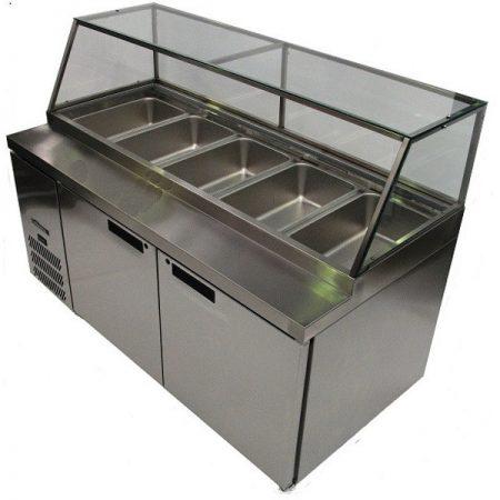 williams_banksia_HSP5UBASS_two_door_preparation_fridge_stainless_steel