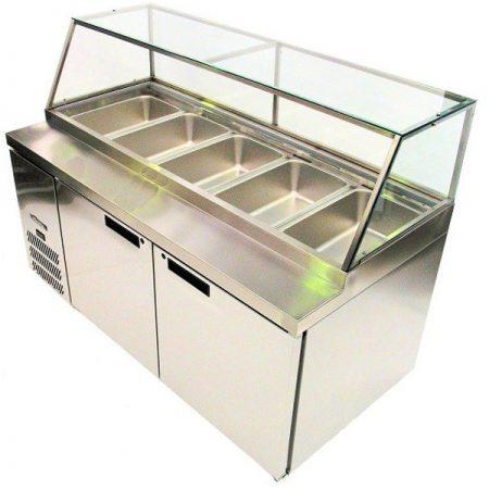 williams_banksia_HSP5UBA_two_door_preparation_fridge_colorbond