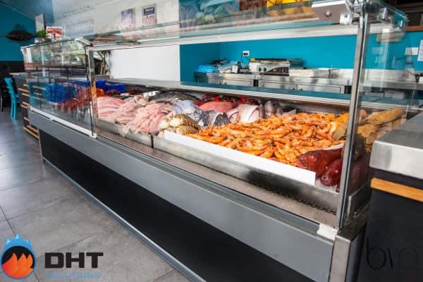 Warragul Fish kitchen Fish display fridge