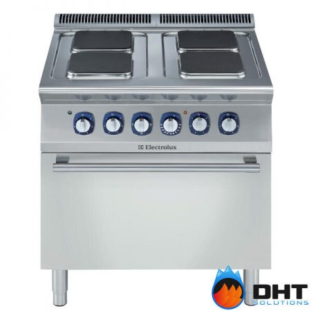 Electrolux 371018 - 4 Hot Square Plates Electric Boiling Top Range on 6kw Electric Oven