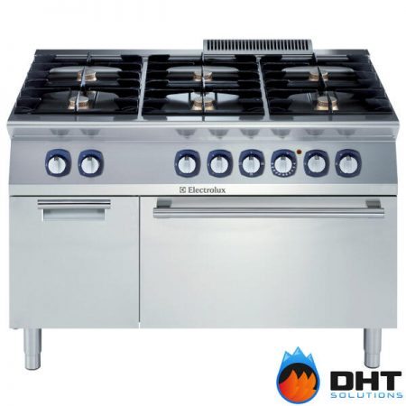 Electrolux 371172 - 6 Burner Gas Range on Electric Oven with Cupboard