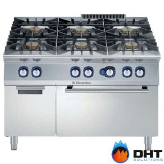 Electrolux 391014 - 6 Burner Gas Range 10 kW on Gas Oven with Cupboard