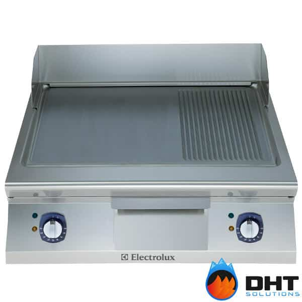 Electrolux 391070 - Full Module Electric Fry Top with 2/3 Smooth and 1/3 Ribbed Sloped Mild Steel Plate