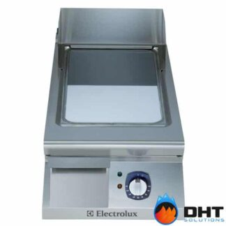 Electrolux 391072 - Half Module Electric Fry Top Chromium Plated with Smooth Sloped Plate