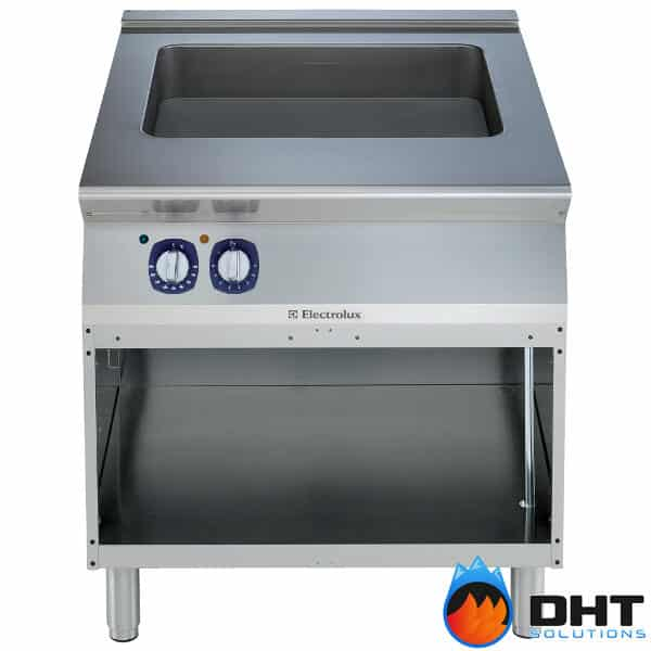 Electrolux 391151 - Electric Multifunctional Cooker with Compound Bottom on Open Cupboard