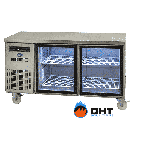 Sanden Spc 1506g Double Glass Door Under Counter Chiller Dht Solutions