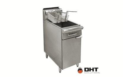 a user-friendly three tube burner fryer