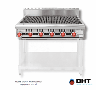 stainless steel polished Char Grill Cooking Equipment