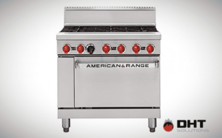 heavy duty oven range