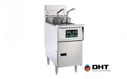 highly efficient gas tube fryer