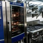 Prohibition Restaurant Electrolux combi and Goldstein cooking range