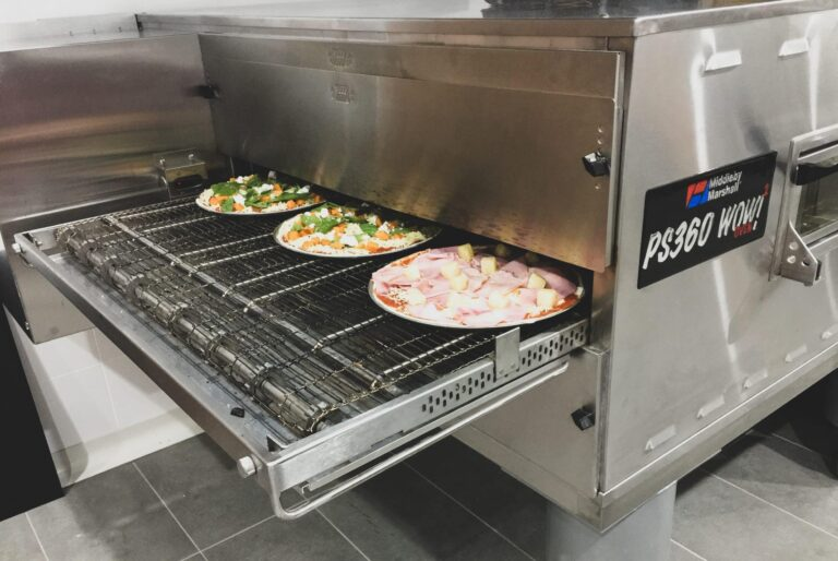 The Wicked Tomato Pizza Conveyor Oven in Action